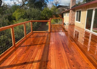 deck finishing walnut creek