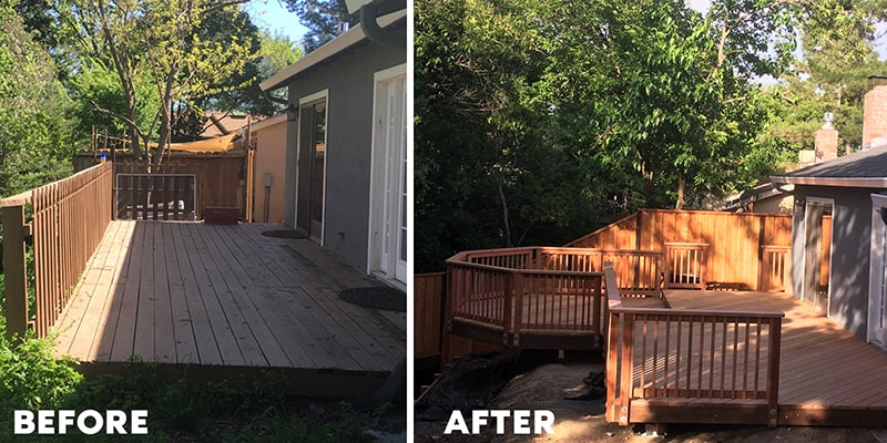deck installation walnut creek